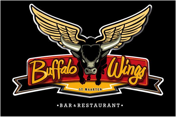 logo black buffalo wings