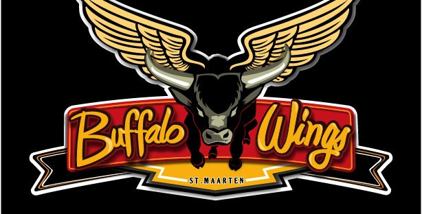 logo black buffalo wings
