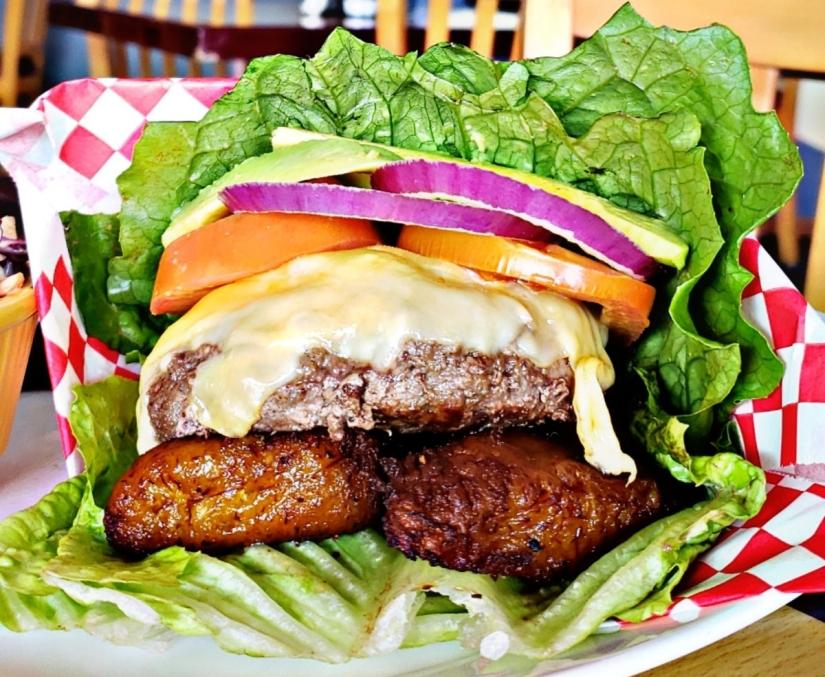 bunless burger