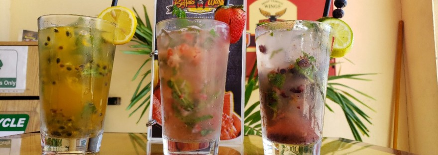 fresh fruit mojitos